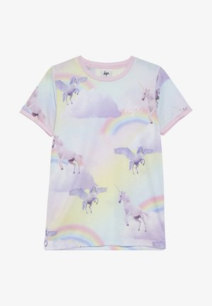 RAINBOW UNICORN - Printtipaita - multi