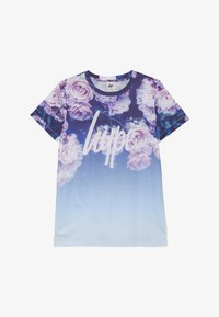 Hype - KIDS ROSE FADE - T-shirt imprimé - blue - 2