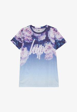 KIDS ROSE FADE - T-shirt z nadrukiem - blue