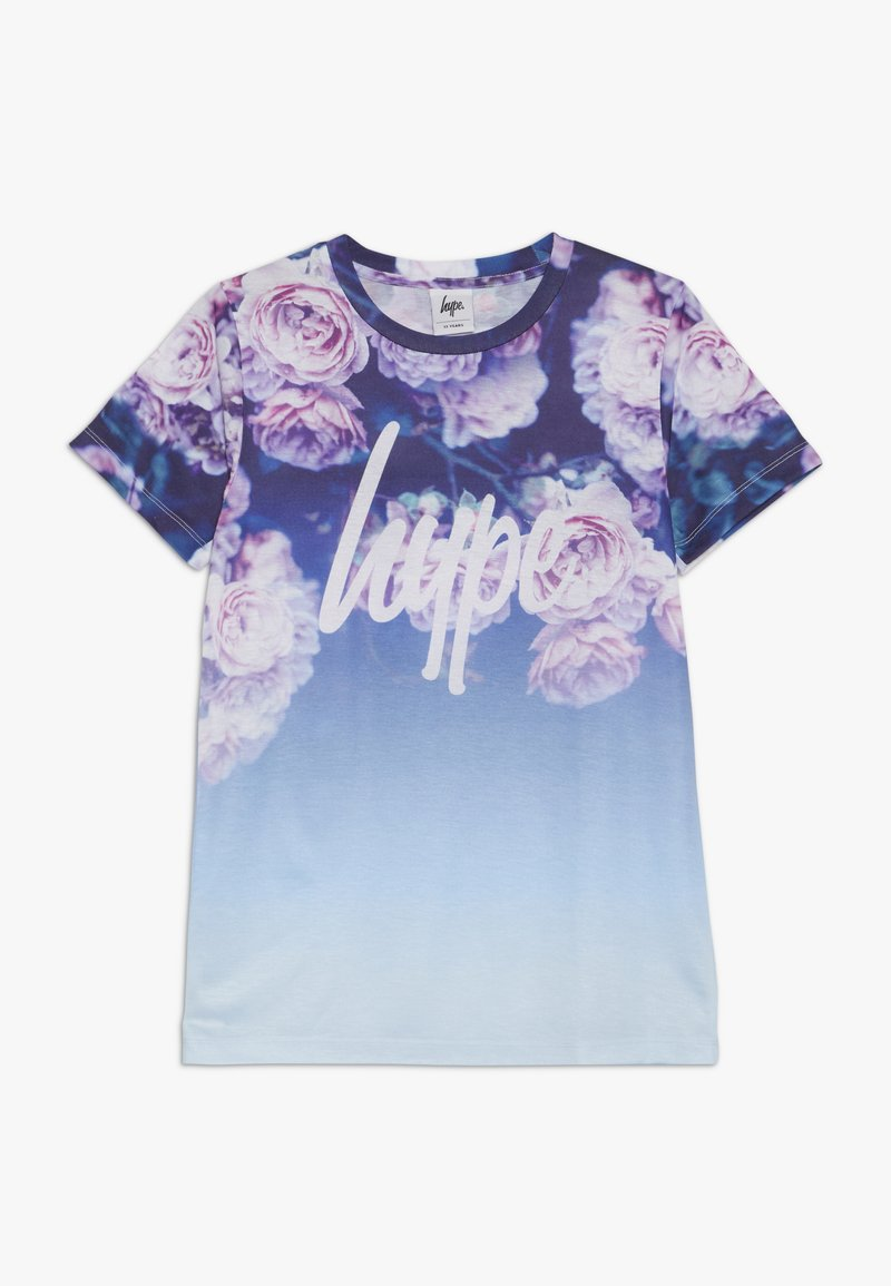 Hype - KIDS ROSE FADE - T-Shirt print - blue