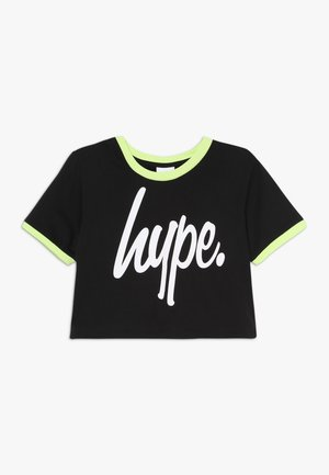 SUB TEE - Print T-shirt - black