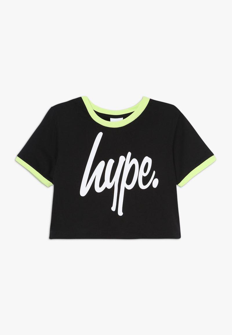 Hype - SUB TEE - T-shirt imprimé - black