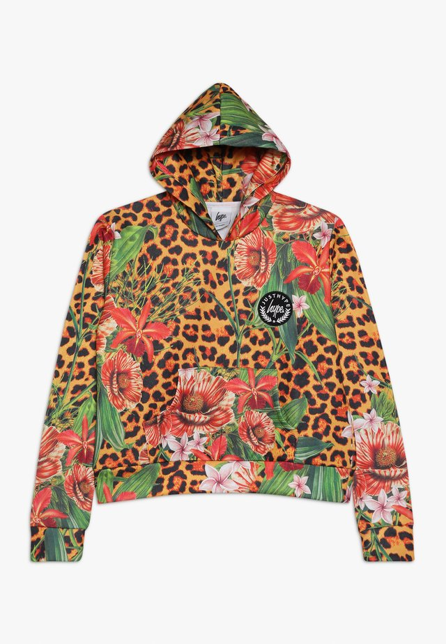 KIDS CROP HOODIE JUNGLE - Sweatshirt - multi