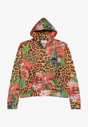 KIDS CROP HOODIE JUNGLE - Bluza - multi