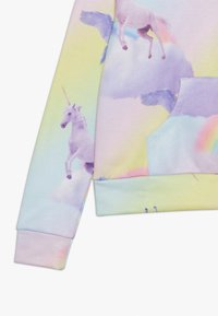 Hype - KIDS CROP HOODIE RAINBOW UNICORN - Jersey con capucha - multi-coloured - 3