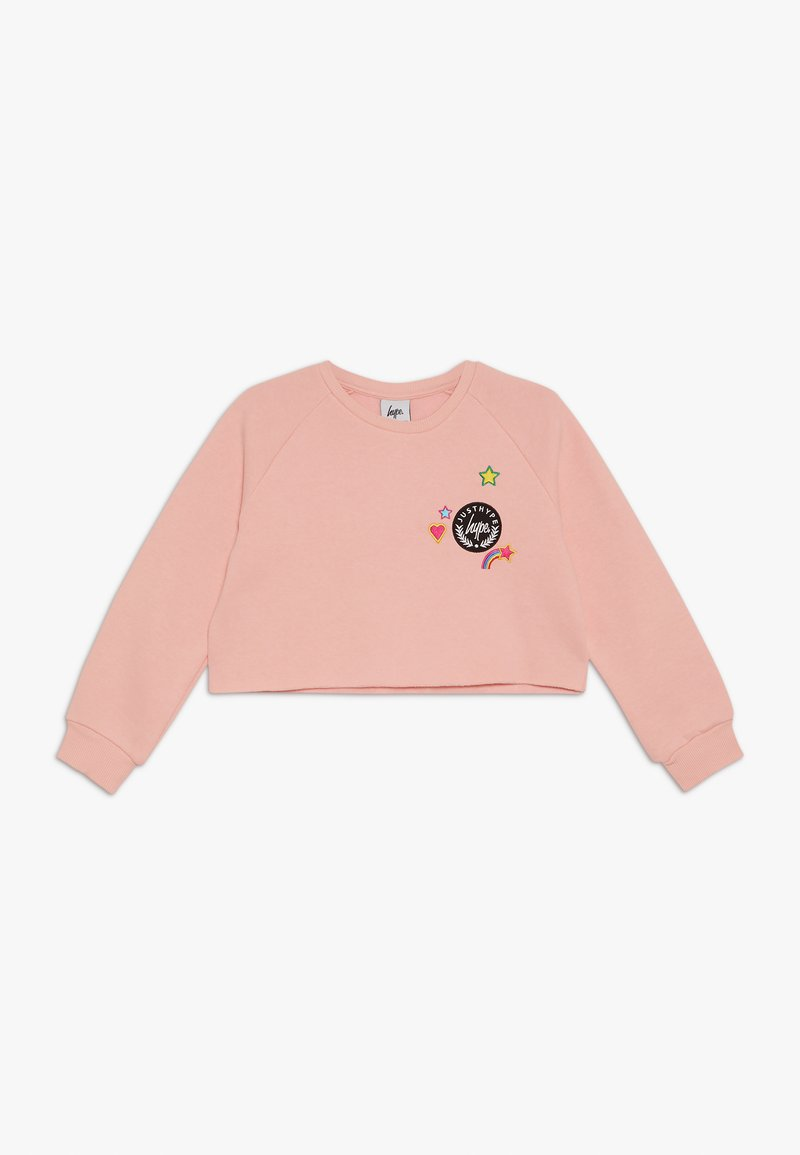 Hype - KIDS CROP CREW  STAR - Mikina - pink