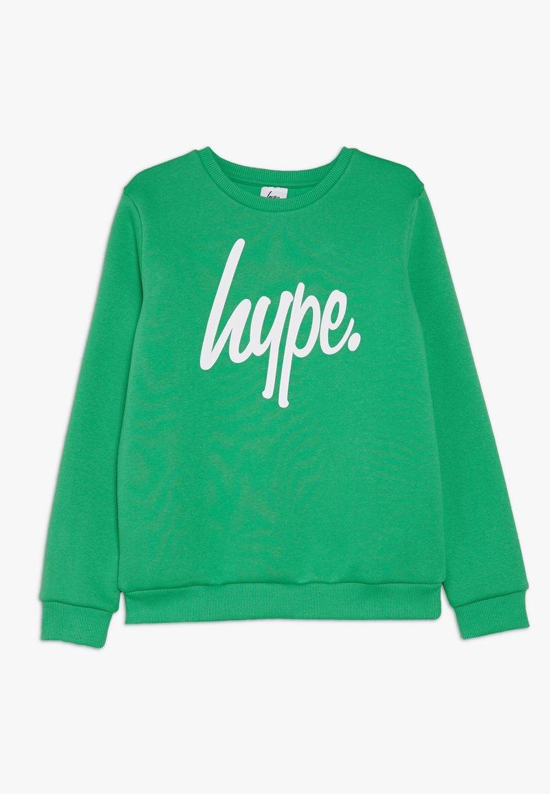 Hype - KIDS CREWNECK SCRIPT - Sweatshirt - green