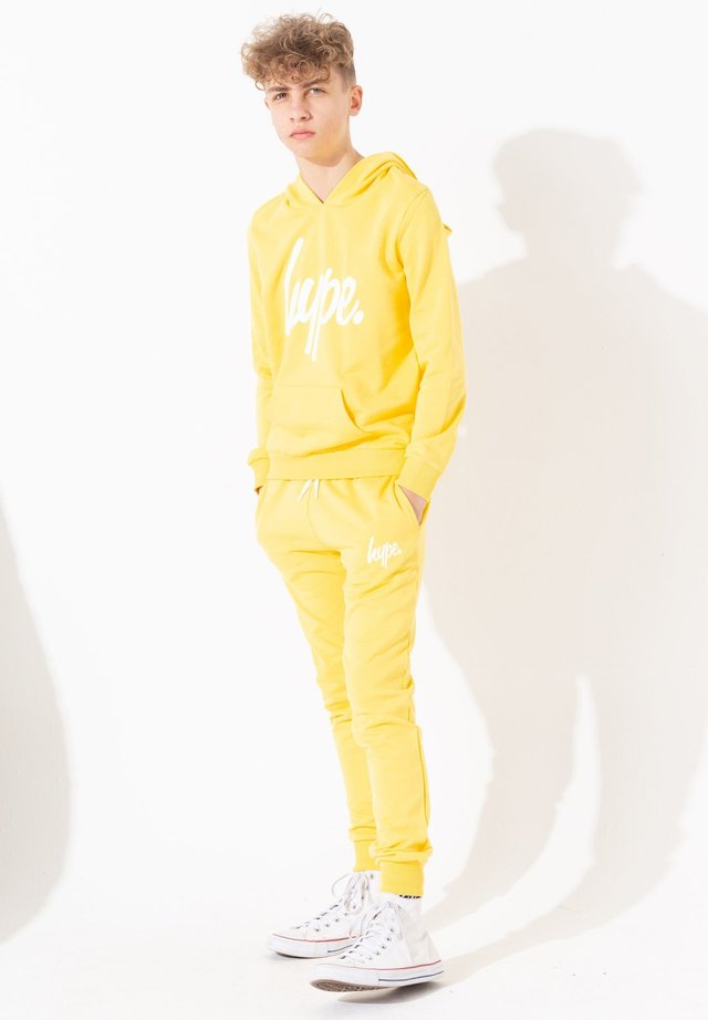 SCRIPT - Hoodie - yellow