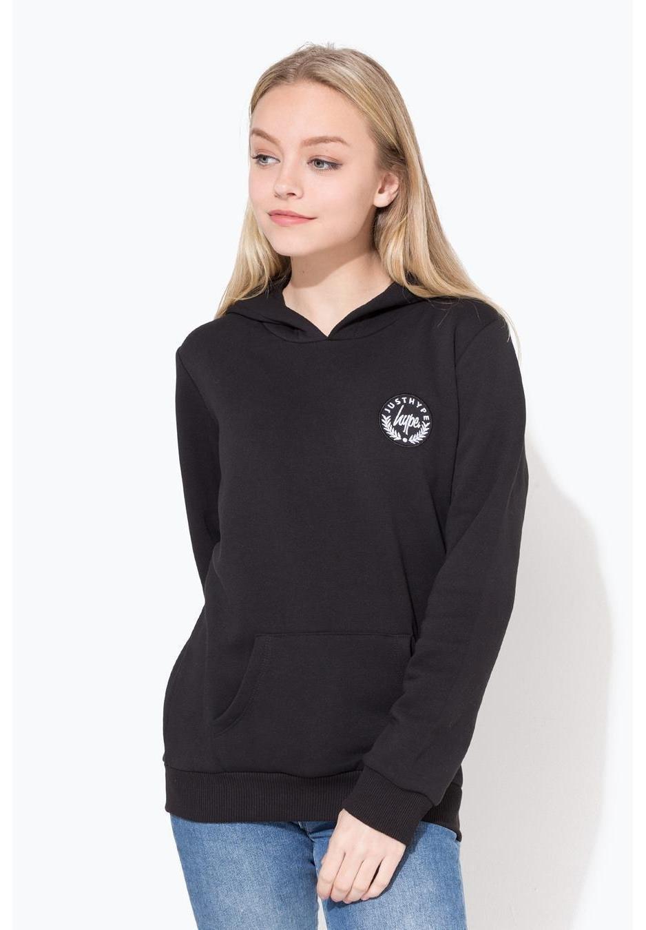 Große Förderung Hype Kapuzenpullover - black | Damenbekleidung 2020