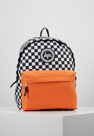 BACKPACK CHECK CONTRAST - Sac à dos - multi/orange