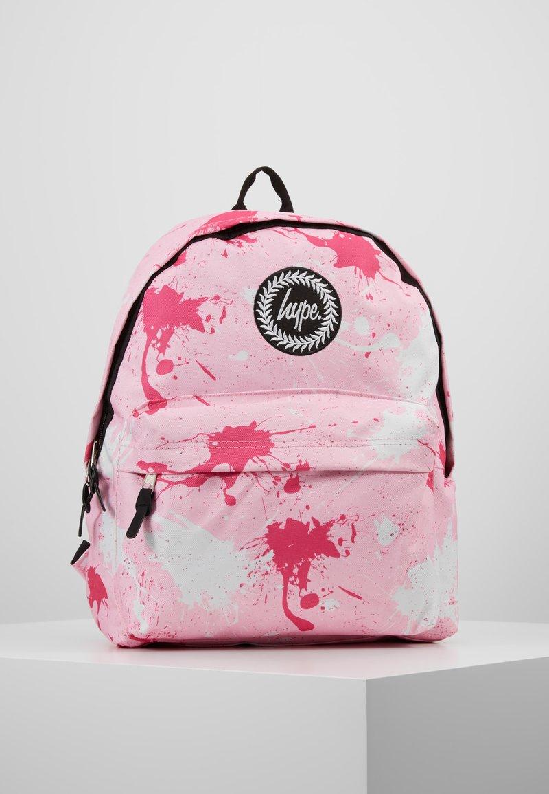 Hype - BACKPACK SPLATTER - Reppu - pink/fuschia/white