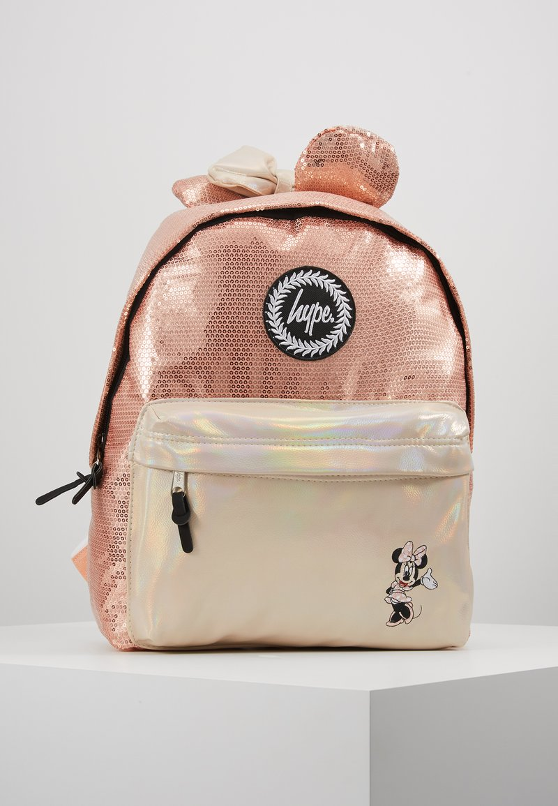 Hype - BACKPACK MINNIE GLAM - Rucksack - rose gold