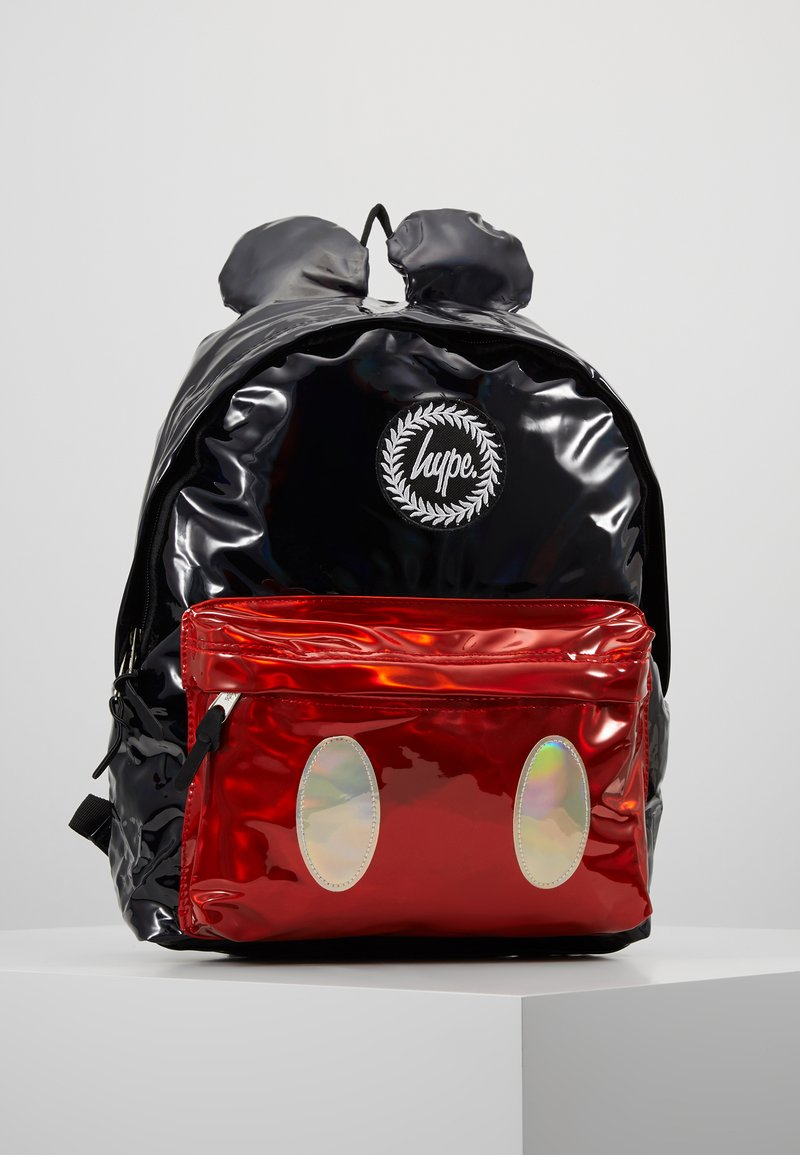 Hype - BACKPACK MICKEY SHINE - Rucksack - black/red