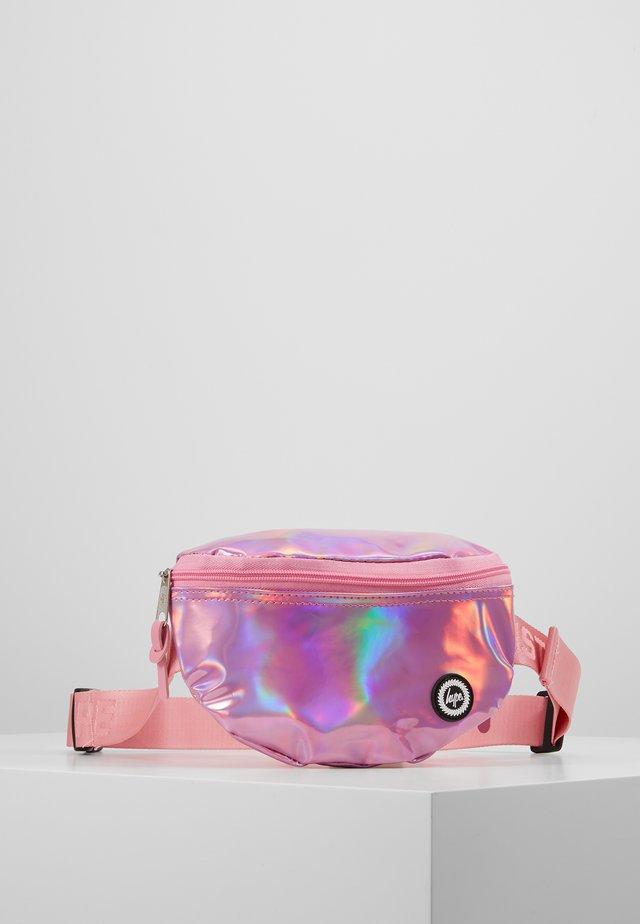 BUMBAG - PINK HOLOGRAPHIC - Bandolera - pink