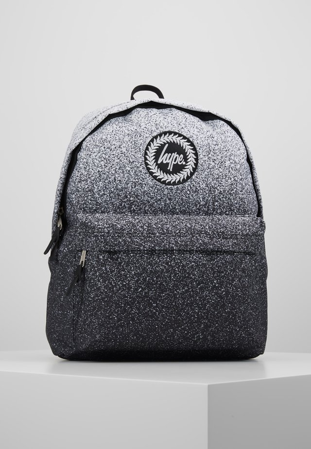 BACKPACK SPECKLE FADE - Ryggsäck - black/white