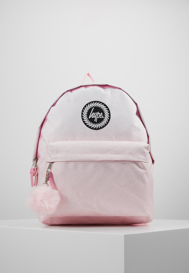 BACKPACK SPECKLE FADE - Rucksack - pink/white