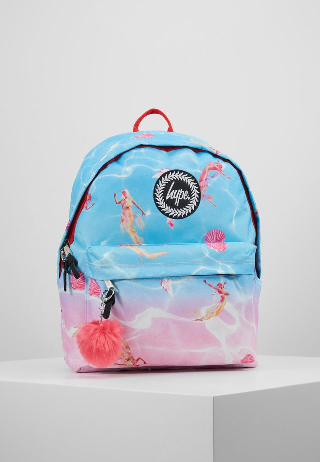 BACKPACK MERMAID - Rygsække - blue/pink