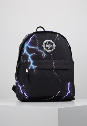 BACKPACK LIGHTNING - Rugzak - black