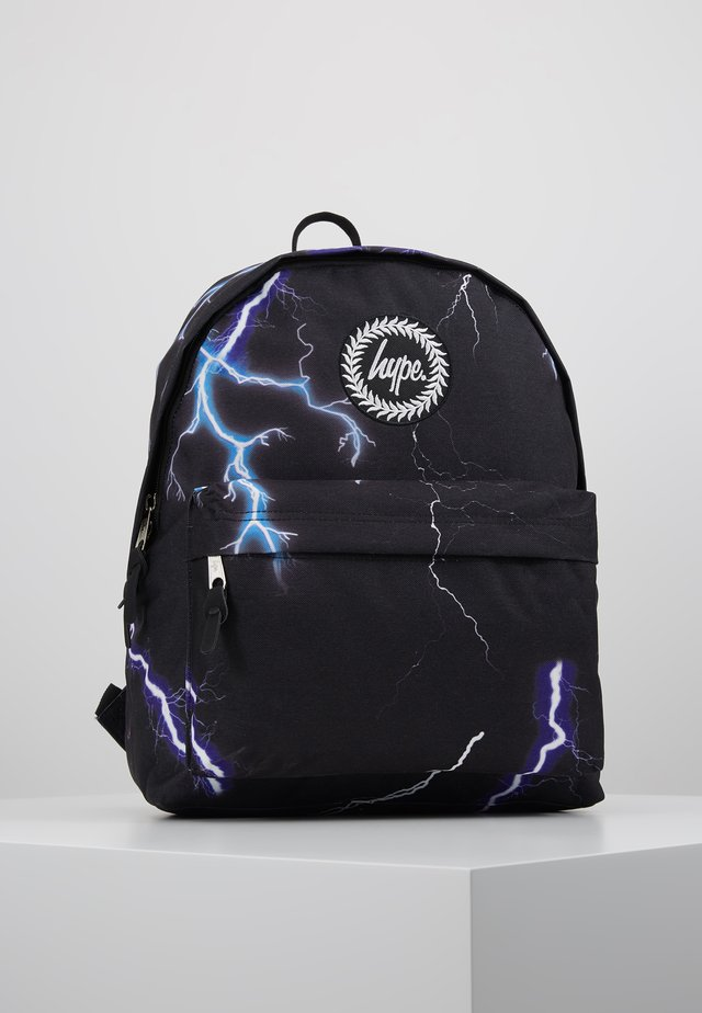BACKPACK LIGHTNING - Zaino - black