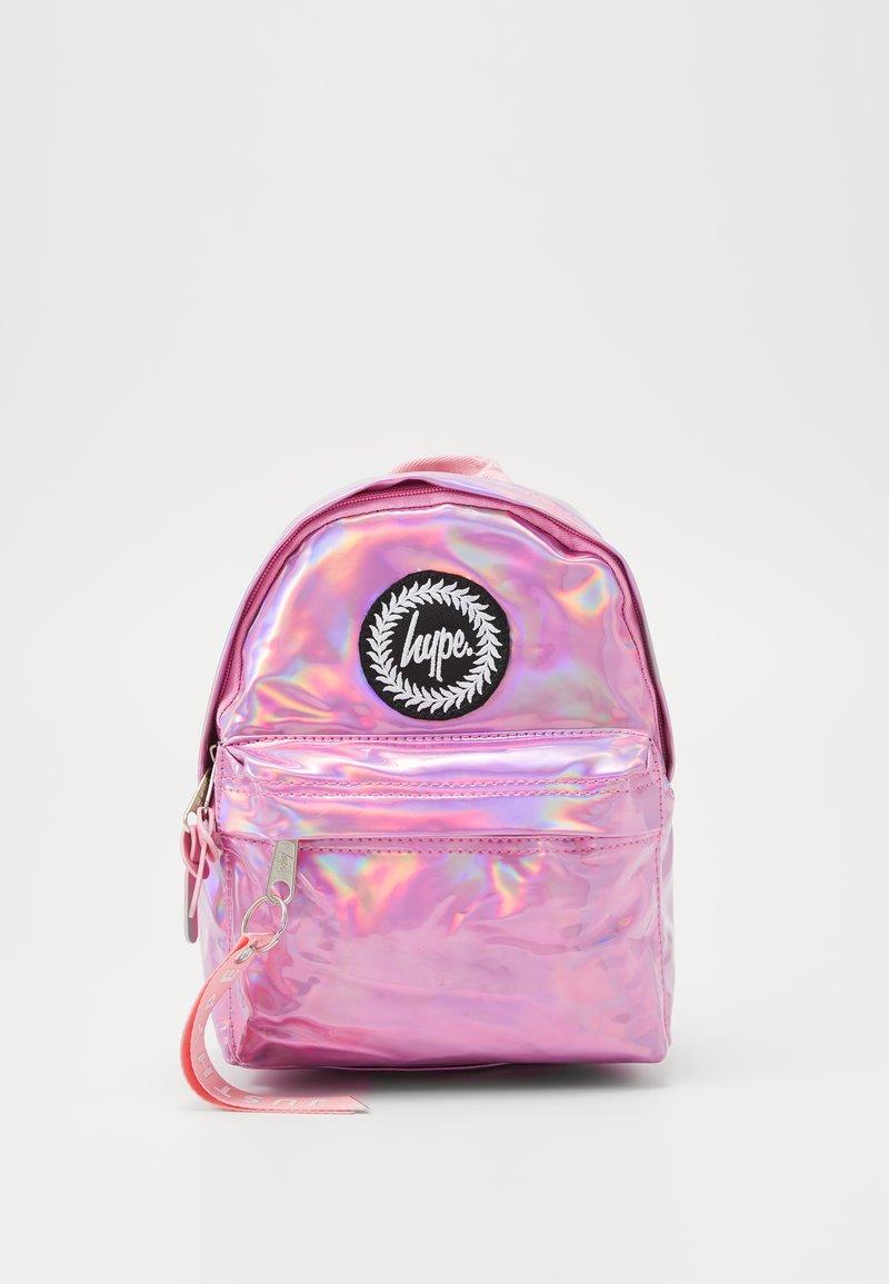 Hype - BACKPACK HOLO MINI - Rucksack - pink