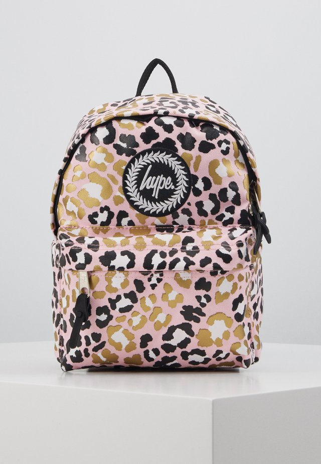 MINI BACKPACK GLITTER LEOPARD - Ryggsäck - multi
