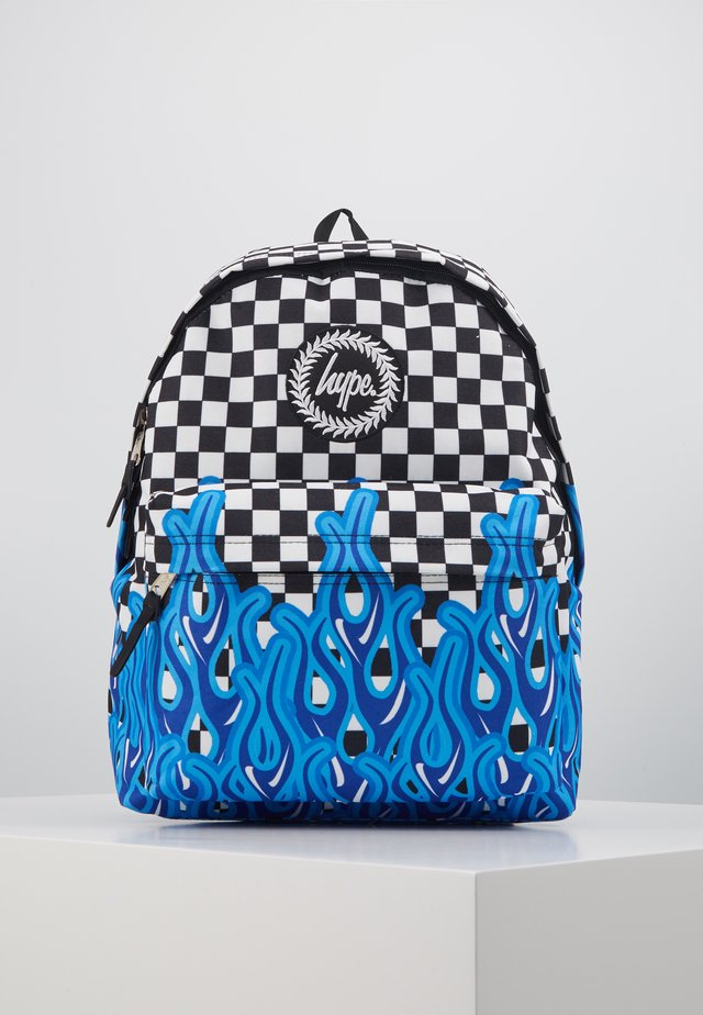 BACKPACK CHECKERBOARD FLAME - Rucksack - multi