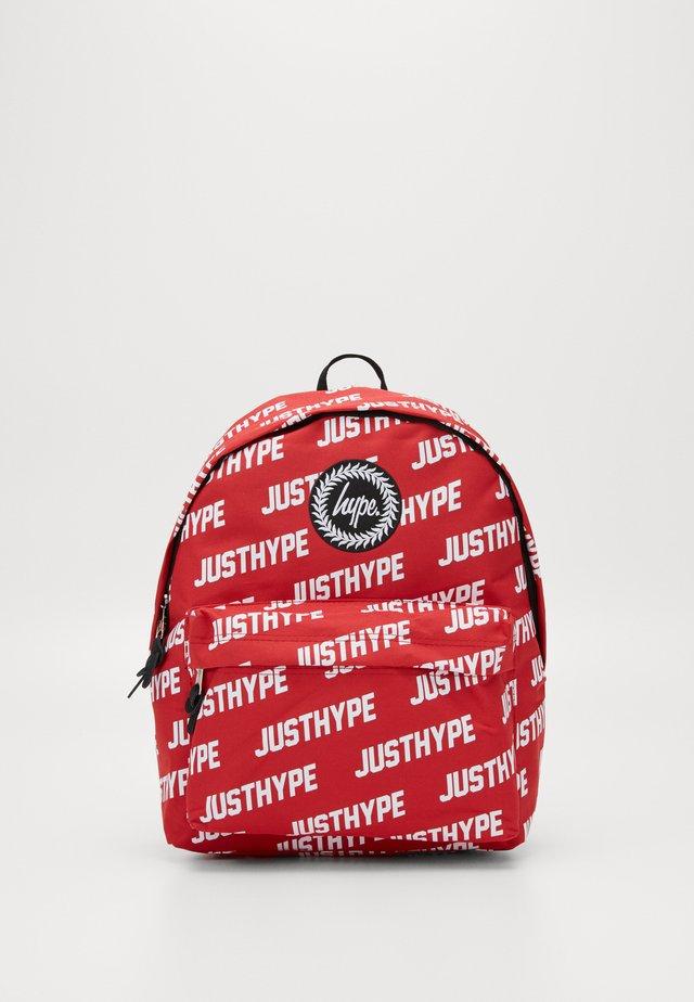 BACKPACK JUSTHYPE - Rygsække - red