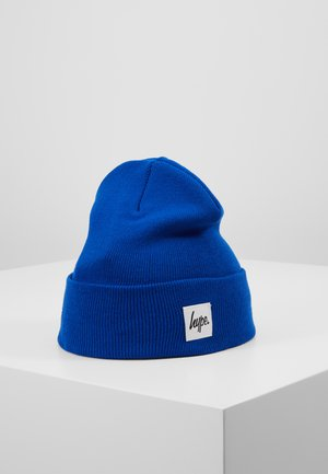 BEANIE HYPE PATCH - Mössa - blue