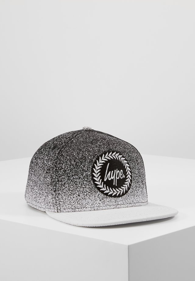CAP - SPECKLE SNAPBACK - Keps - black/white