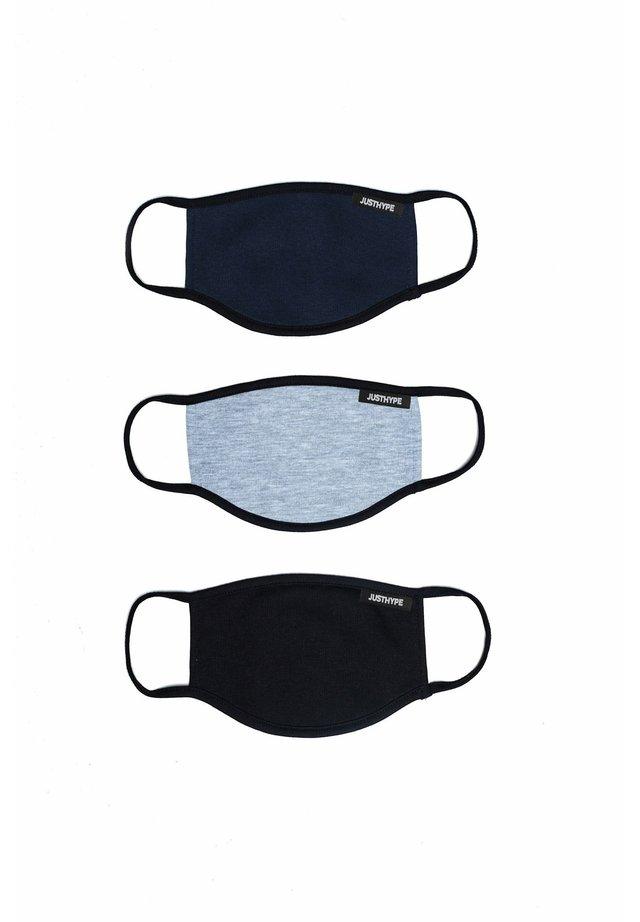3 PACK - Community mask - navy/grey/black