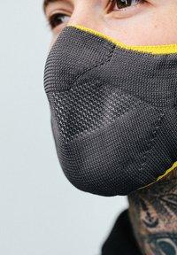 Hype - Community mask - grey/yellow - 3