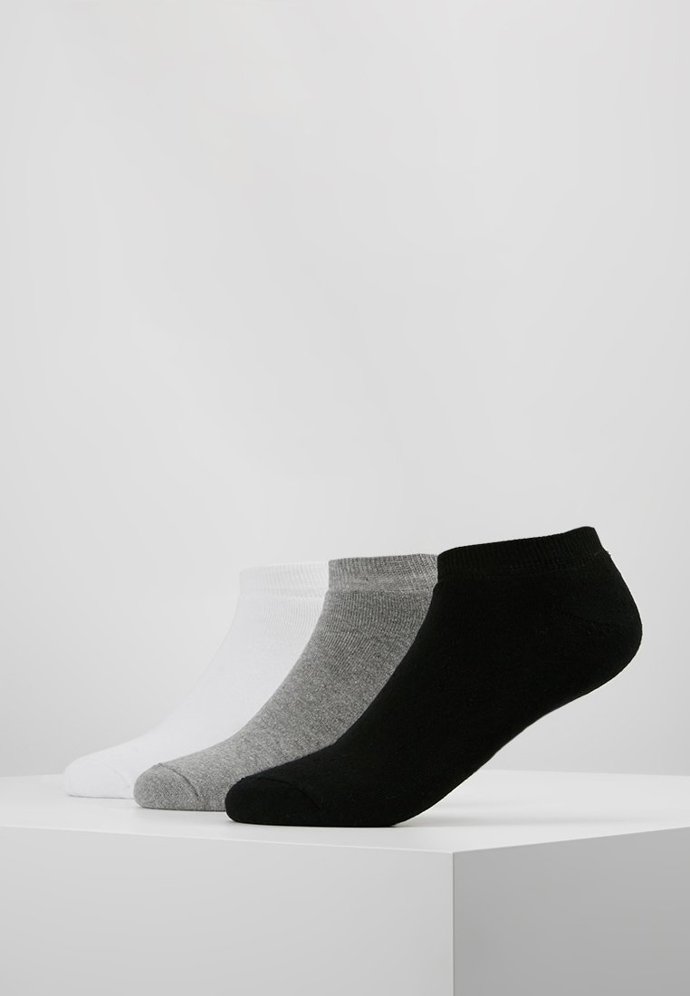 Hype - TRAINER LINERS CORE SPORTS 3 PACK  - Socks - black/grey/white