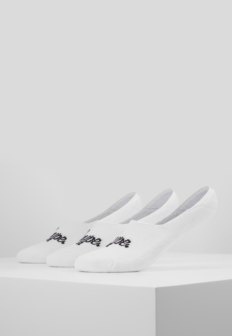 Hype - LOAFER HYPE 3PACK - Ponožky - white