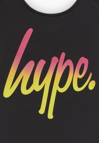 Hype - KIDS SWIMSUIT SCRIPT - Badedragter - black/pink/yellow - 3