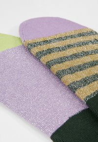 Hysteria by Happy Socks - CLAUDIA INVISIBLE SOCKS 2 PACK - Trainer socks - multi-coloured - 2