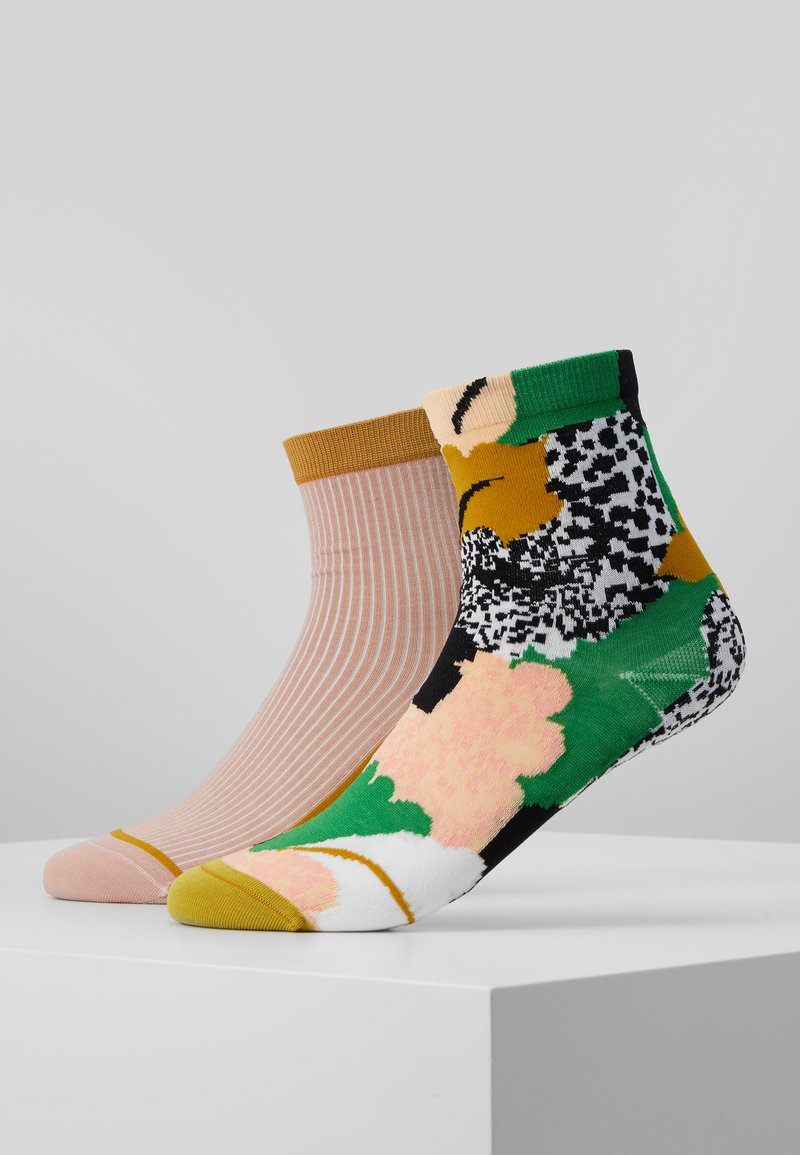 Hysteria by Happy Socks - LENA ANKLE SOCK 2 PACK  - Sokken - multi