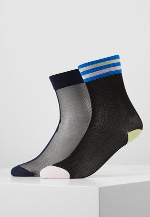 FILIPPA ANKLE LONA CREW 2 PACK - Ponožky - multi