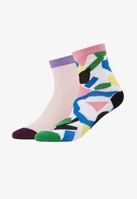 Hysteria by Happy Socks - ELSA ANKLE GRACE ANKLE 2 PACK  - Ponožky - multi - 1