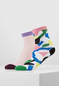Hysteria by Happy Socks - ELSA ANKLE GRACE ANKLE 2 PACK  - Ponožky - multi - 0