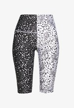 Leggings - Trousers - black/off white seashell