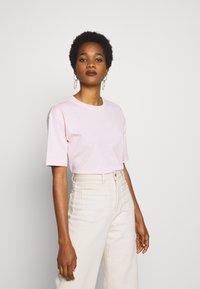 H2O Fagerholt - SECRET LOVE TEE - Print T-shirt - dusty pink - 0