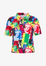 TENNIS - Print T-shirt - blue multi