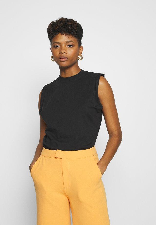 PART ONE TEE - T-shirt basic - black