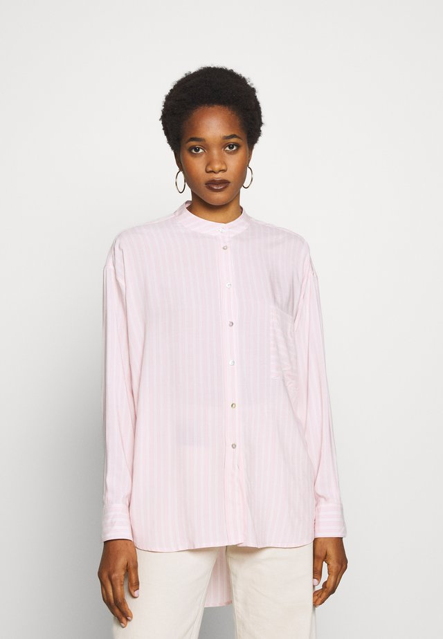SHOOTER - Button-down blouse - light pink
