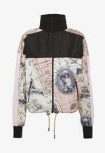 DIRECTION TRACK JACKET - Summer jacket - safari beige