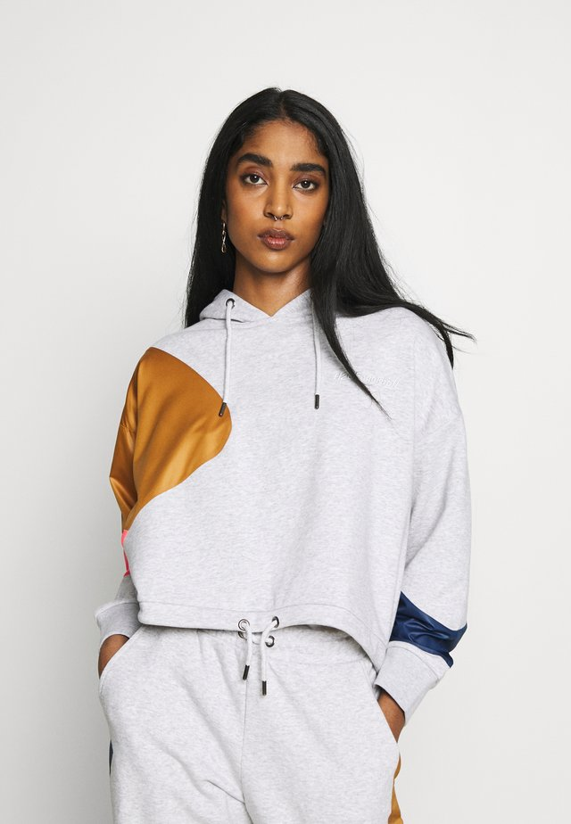 MIXEDRACE HOODIE - Hoodie - light grey melange
