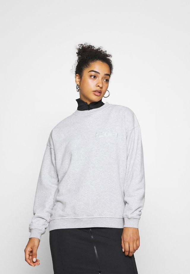 DOCTOR  O NECK - Sweatshirt - light grey melange