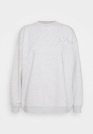 DOCTOR  O NECK - Sweater - light grey melange