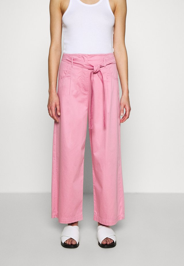 ERMETE - Trousers - pastel rose