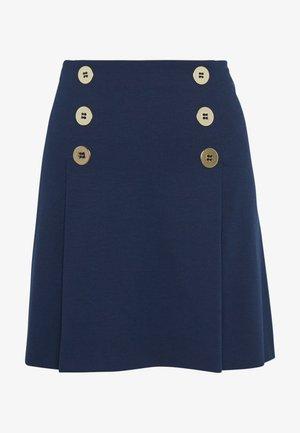 OLMO - A-line skirt - navy